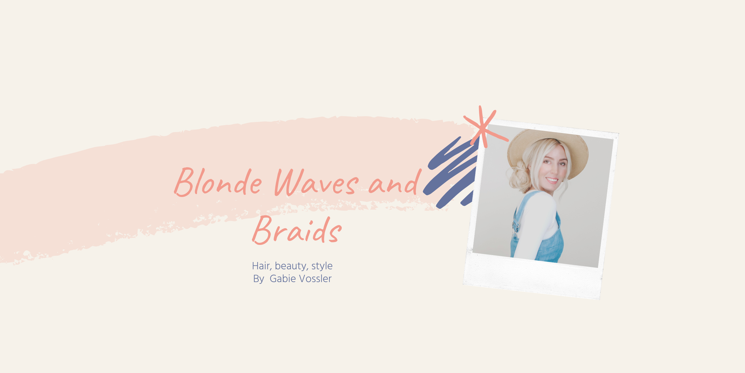 Blonde Waves and Braids